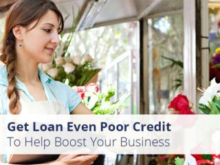 Poor Credit Business Loans from Merchant Advisors