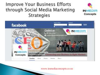 Improve Your Business Efforts through Social Media Marketing