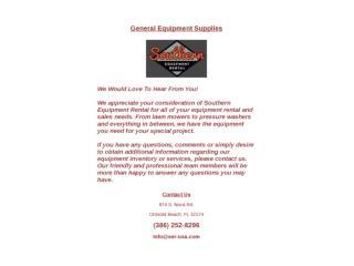 General Equipment Supplies
