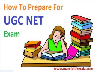 How To Prepare For UGC NET Exam