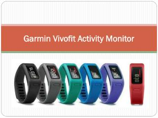 Garmin Vivofit Activity Monitor