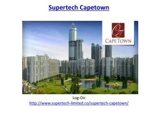 Supertech Capetown Residential Apartments