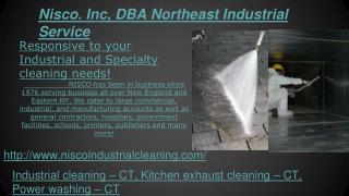 Industrial, Kitchen Exhaust Cleaning, Power Washing, HVAC Du