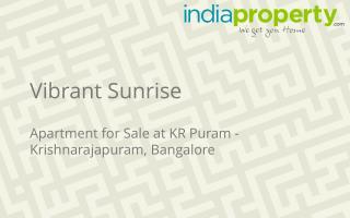 Vibrant Sunrise - Apartment in KR Puram - indiaproperty