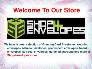Order Online Envelopes UK