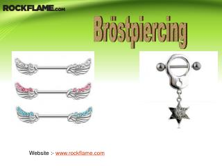 Köp snygga Bröstpiercing för kvinnor Online