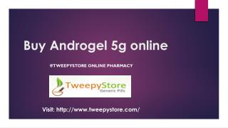 Buy Androgel Testosterone Gel