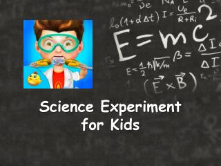 Science Experiment for Kids - Android Games for Kids