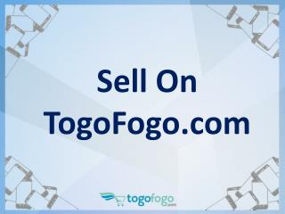Sell On Togofogo