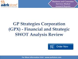 Aarkstore - GP Strategies Corporation (GPX) - Financial