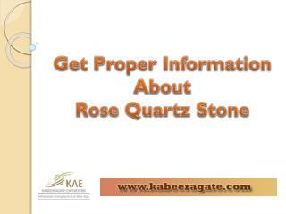 Healing Crystals Rose Quartz Benefits