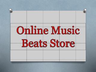 Online Music Beats Store