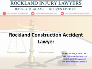 Rockland Construction Accident Lawyers