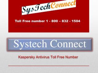 Kaspersky Antivirus Toll Free Number ! 1- 800-832-1504
