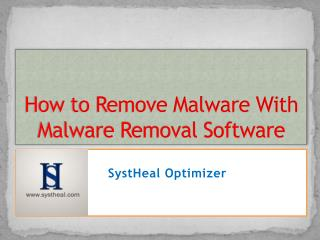 How To Remove Malware With Malware Removal Software