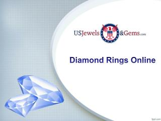 Diamond Rings Online