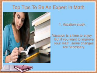 Top Tips To Be An Expert In Math