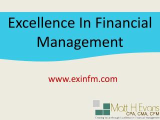 Financial Management of Small Business by exinfm.com