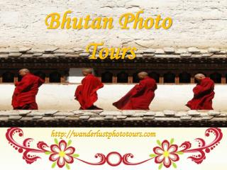 Bhutan Photo Tours