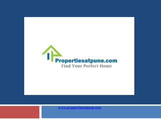 New Residential projects in pune - Propertiesatpune.com