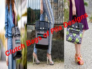 Clutch Bags of Plia Designs
