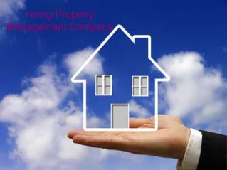Hiring Property Management Company