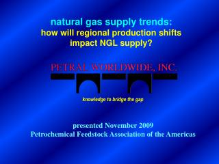 Natural gas supply trends: how will regional production shifts impact NGL supply