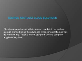 central kentucky cloud solutions