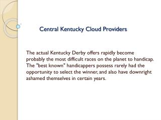 central kentucky cloud providers