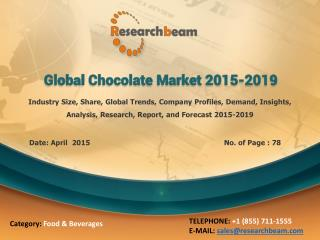 Global Chocolate Market 2015-2019