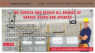 Dallas Garage Door Specialists