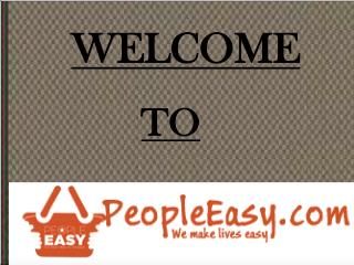 Online Shopping of Personal Care Products with PeopleEasy.com