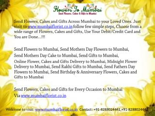 Send Flowers to Mumbai