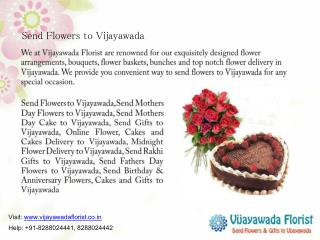 Send Flowers to Vijayawada