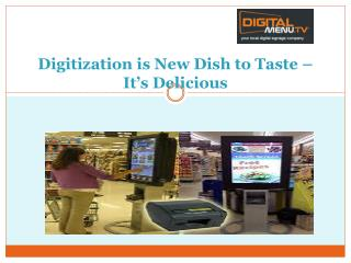 Restaurant Digital Menu Boards in Boston