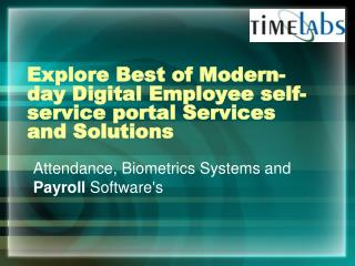 Explore Best of Modern-day Digital Employee self-service por