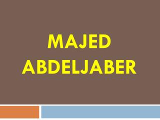 Majed Abdeljaber - American Immigration Law Center