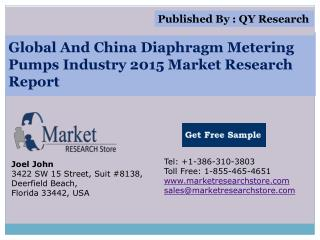 Global and China Diaphragm Metering Pumps Industry 2015 Mark