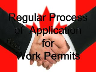 Immigration Questions for Regular Process of Work Permit App