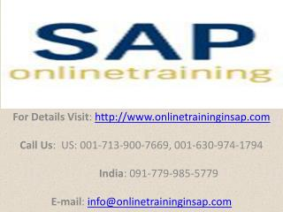 SAP FSCM Training Course Online and Placement