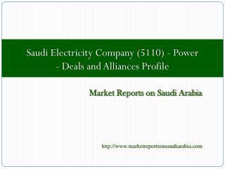 Saudi Electricity Company (5110)