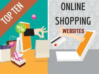 TOP TEN ONLINE SHOPPING WEBSITES