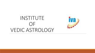 Institute Of Vadic Astrology