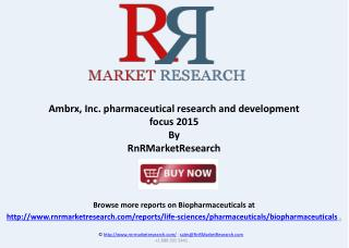 Ambrx, Inc Buisness Description and Subsidiaries Review 2015
