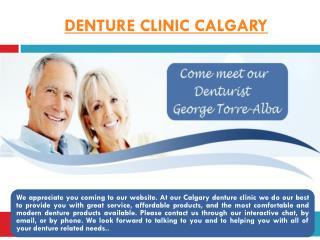 Denture Repair Calgary