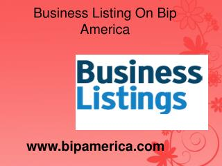Free Online Local Business Liusting