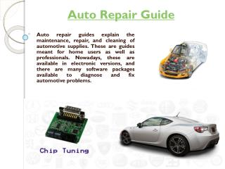 Automotive Repair Books