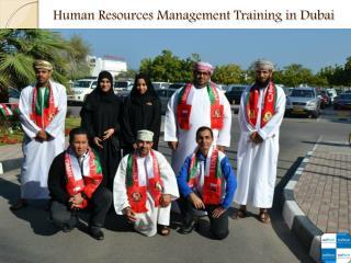 Human Resources Management Training in Dubai