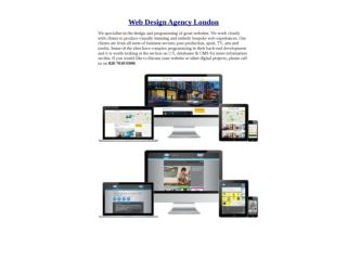 Digital Design Agency London