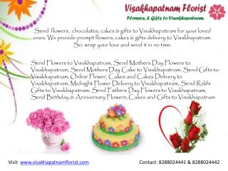 Send Flowers to Visakhapatnam